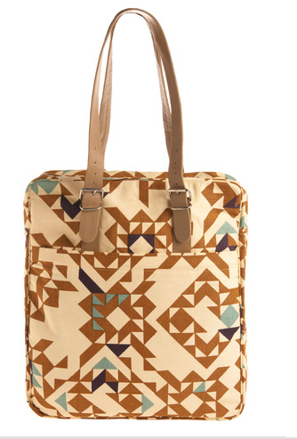 Patterned bag from Mod cloth
