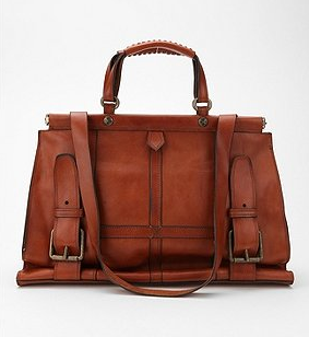 Brown leather bag from Urban Outfitters