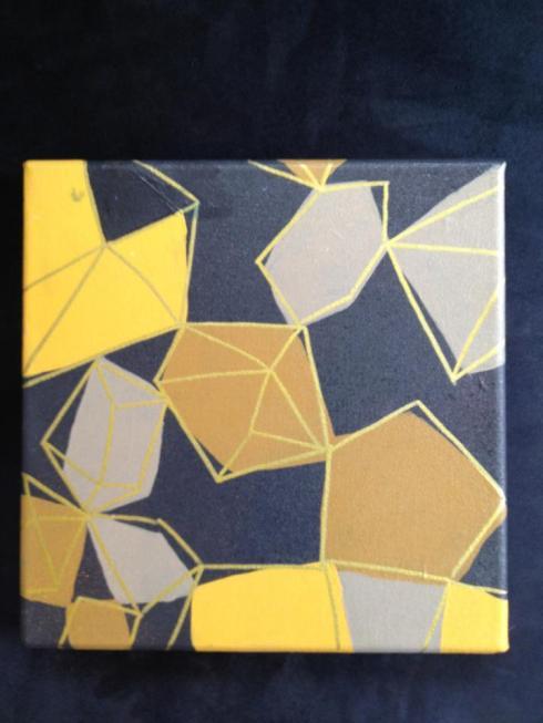 Topaz painting by Kristen Lourie Winnipeg MB