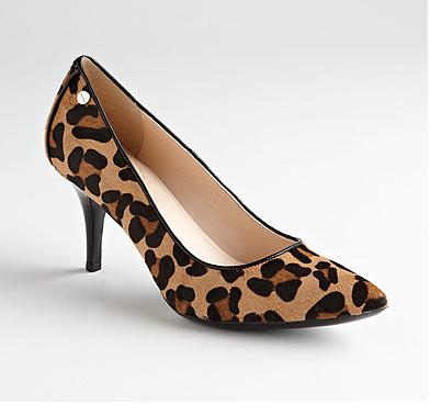 leopard print pump