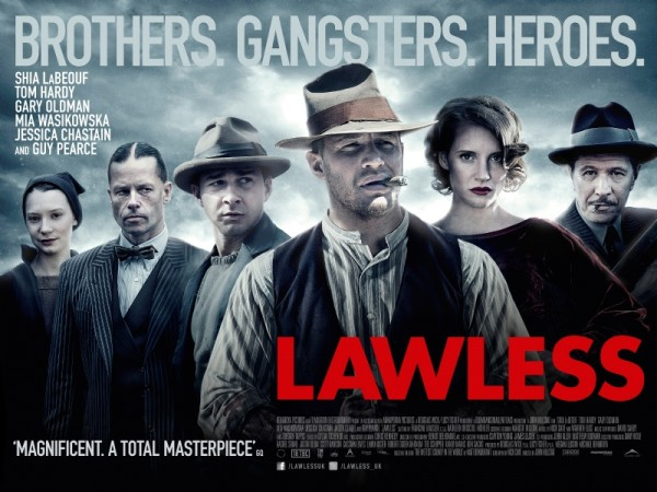 Poster from the movie Lawless