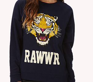 wild thing sweat shirt forever 21
