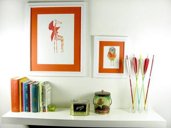 custom coloured arrows