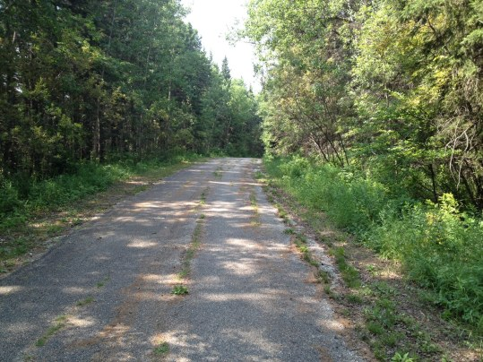 Old Highway in Riding Mountain National Park