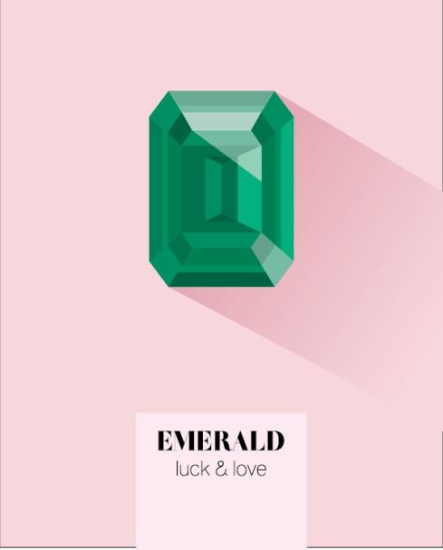 May birthstone emerald