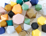 origami decorations gem