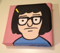Bob's Burgers Tina canvas painting
