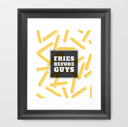 fries before guys print