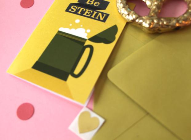 kristen lourie valentine's day cards be stein