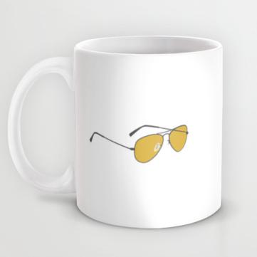 toast of london yes i can hear you clem fandango mug side 2