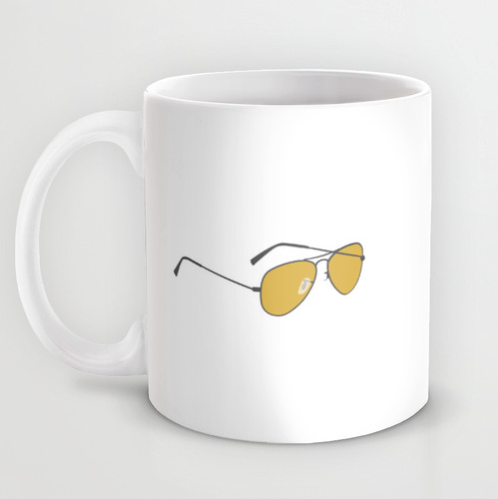 toast of london yes i can hear you clem fandango mug side 2