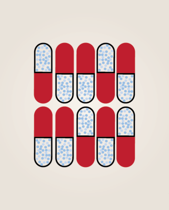 pop art pill pattern print