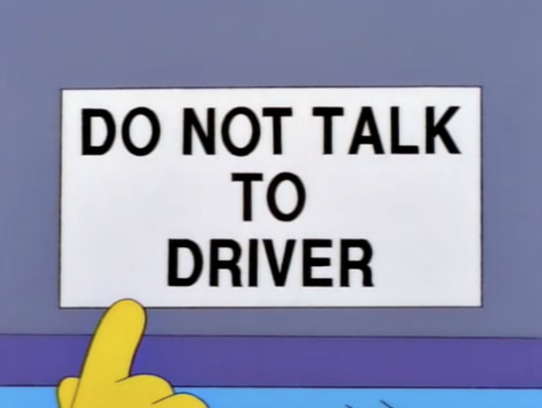 simpsons don't make me tap the sign