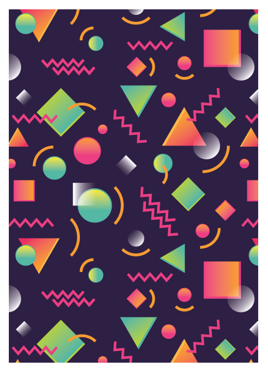 1990s inspired print by Steven Toang