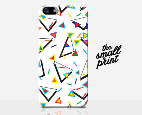 retro 1990s pattern iphone case