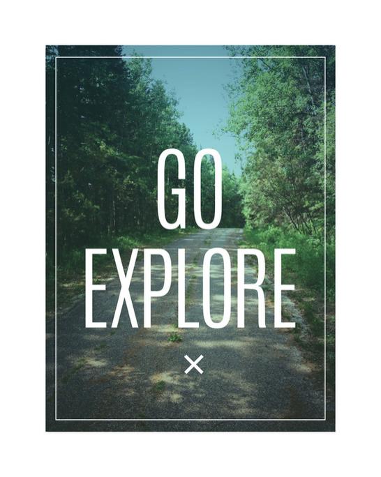 go explore clear lake manitoba print by Kristen Lourie