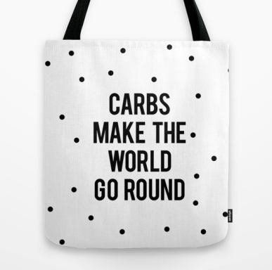 funny food tote bag