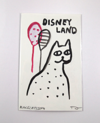 disneyland cat by i like cats on etsy