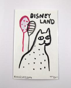 disneyland cat by i like cats on etsy