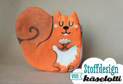 kaselotti squirrel purse