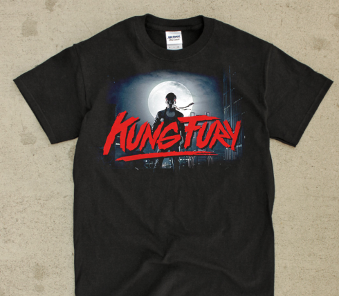 kung fury EPIC t-shirt by CycoThreads on Etsy