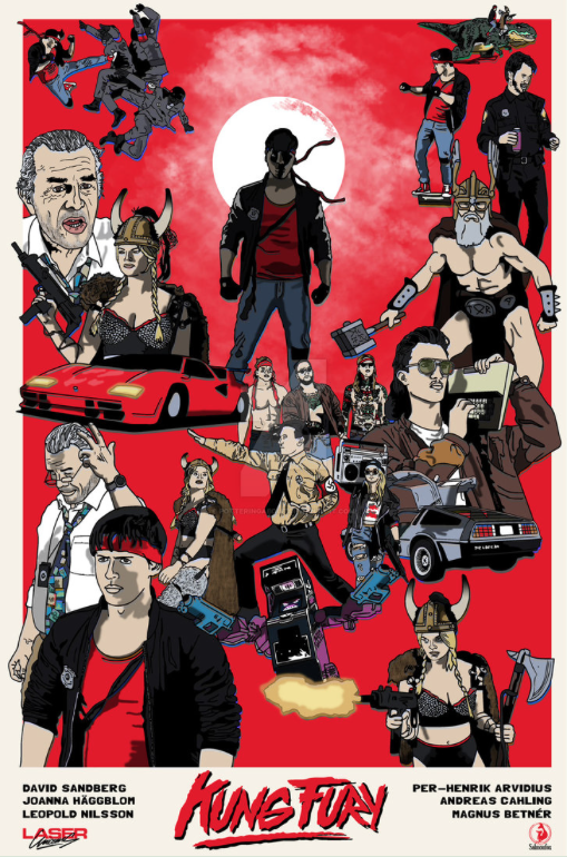 kung fury fan art by PotteringAbout on Deviant Art