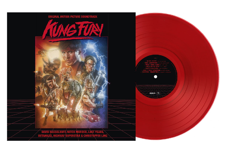 kung fury soundtrack