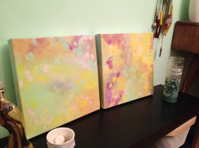 splash dance painting by Kristen Lourie Winnipeg 4