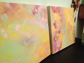 splash dance painting by Kristen Lourie Winnipeg 3