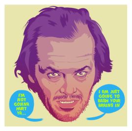 The Shining by Mike Wrobel