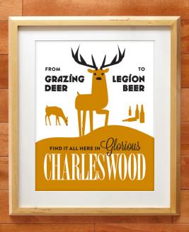Charleswood Winnipeg print by Kristin McPherson