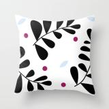 simple fern pillow by Kristen Lourie