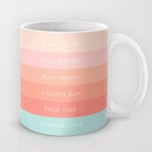 Summer Love mug by Kristen Lourie
