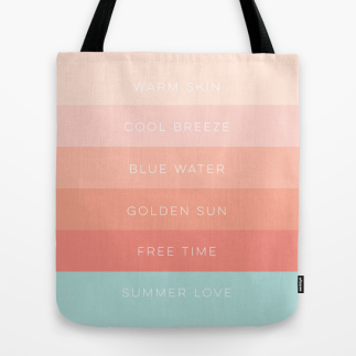 Summer Love tote by Kristen Lourie