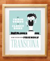 Transcona Winnipeg print by Kristin McPherson