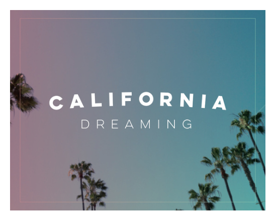 California Dreaming art print society6