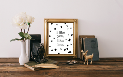 modern love print by kodiak milly