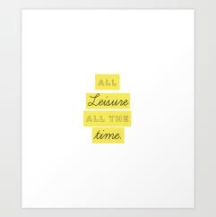 Too Tired Print Set by Kristen Lourie Kodiak Milly 2