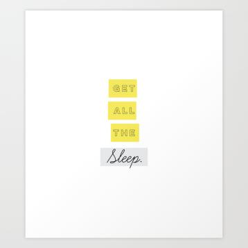 Too Tired Print Set by Kristen Lourie Kodiak Milly 4