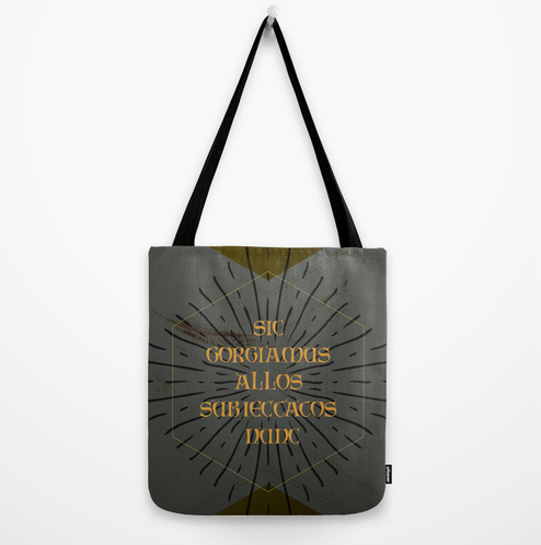 Addams Family Quote tote bag