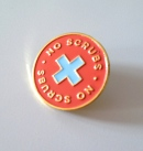 No Scrubs enamel pin by kodiak milly on etsy3