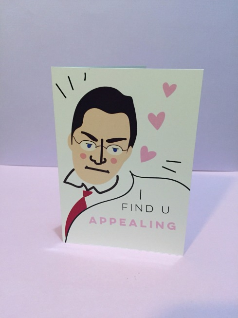 Jerry Buting valentines day card