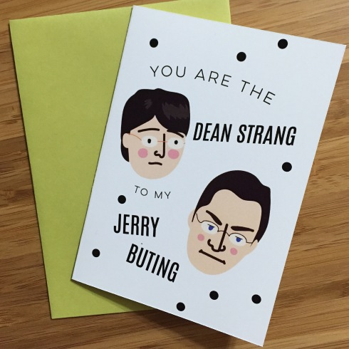Dean Strang and Jerry Buting valentines day card