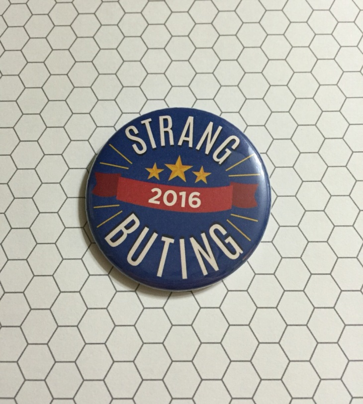 dean Strang and Jerry Buting Election Buttons