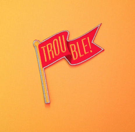 Red Flag Trouble Patch by Kodiak Milly on etsy.png