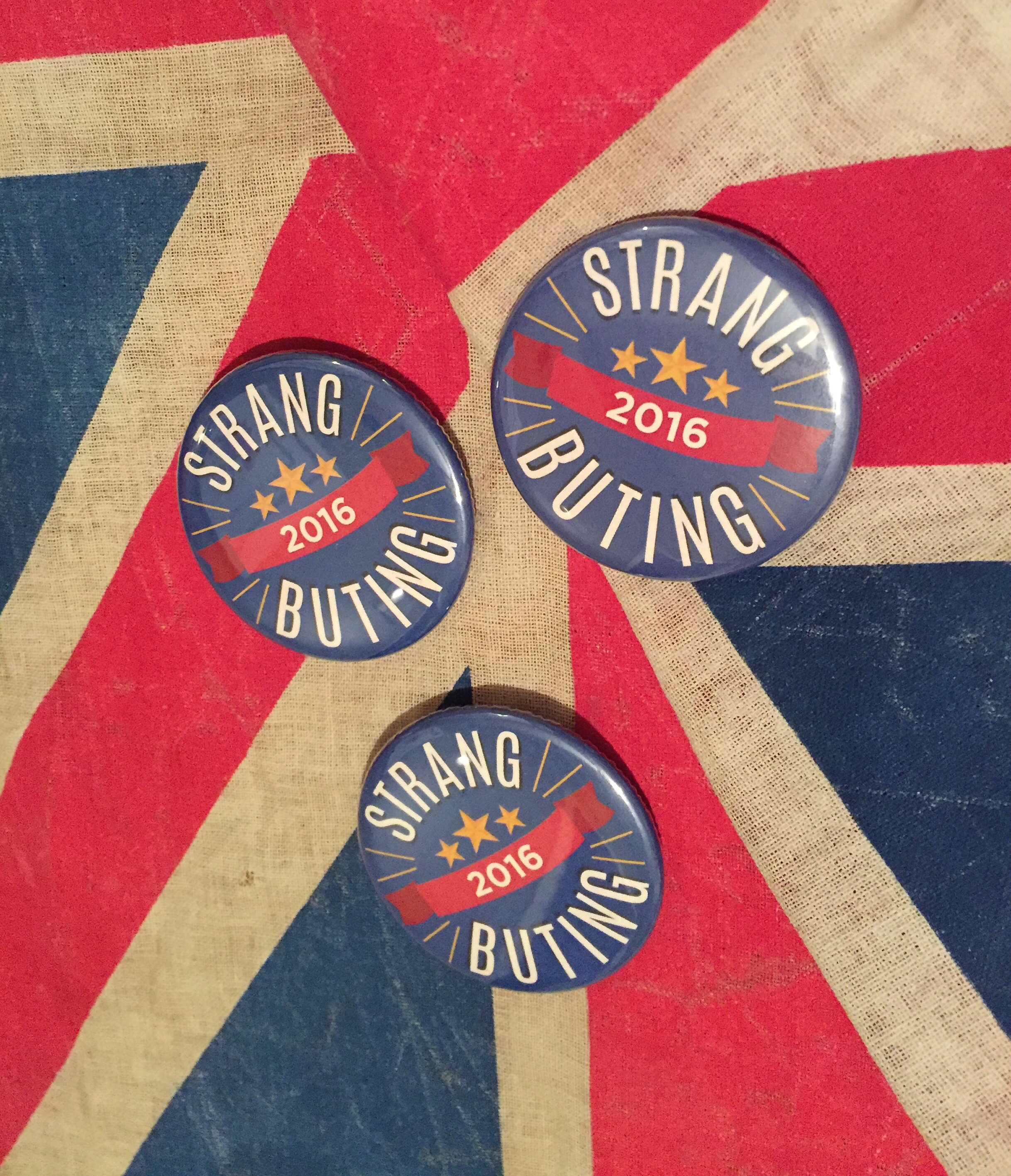 Dean Strang  Jerry Buting Election Buttons
