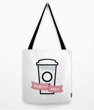 Secretly Basic Tote Bag
