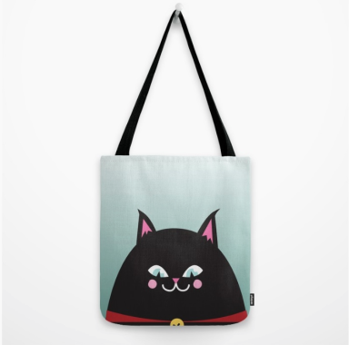 black cat tote kodiak milly society 6