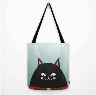 black cat tote kodiak milly society 6