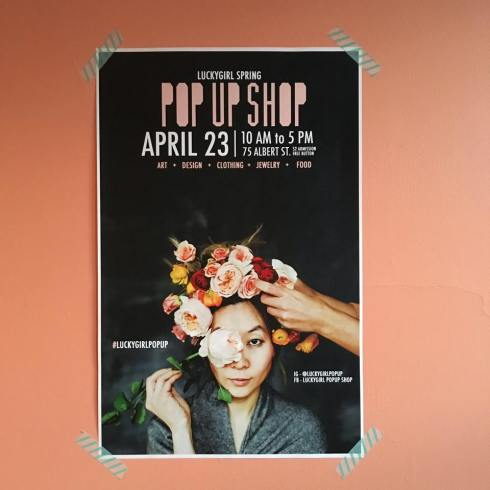 lucky girl pop up shop winnipeg